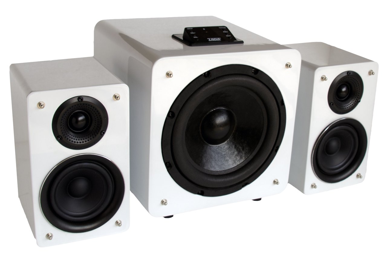 intone 2 1 aktiv lautsprecher stereo surround. Black Bedroom Furniture Sets. Home Design Ideas