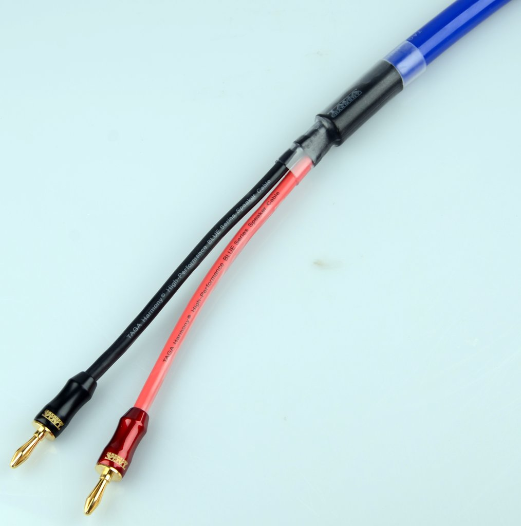 blue 12 awg 2 mm lautsprecher kabel 3 mt stereo surround