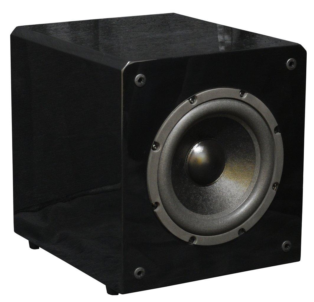 vigor sw 8 aktiv subwoofer stereo surround. Black Bedroom Furniture Sets. Home Design Ideas